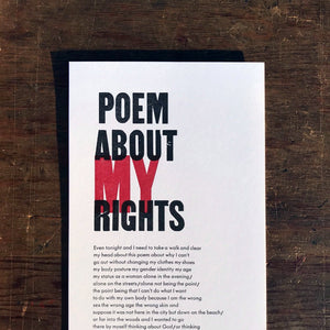 Poem about My Rights