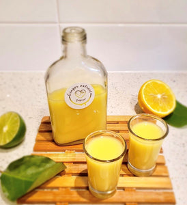 Lemon honey ginger shot