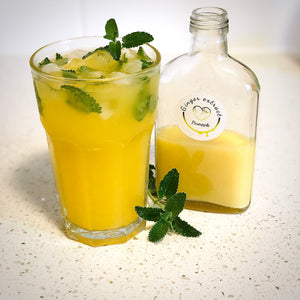 Pineapple mint ginger refreshing mocktail