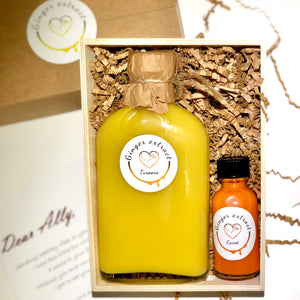 Big bottle gift box