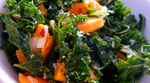 Kale Salad Recipe with Hemp Seeds