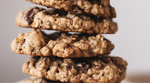 No Bake Hemp Seed & Oatmeal Cookies