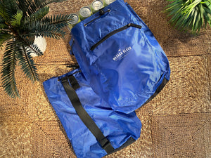 Nylon Knapsack Bag - Blue (Made for a 24 case of Beach 1 Cerveza)