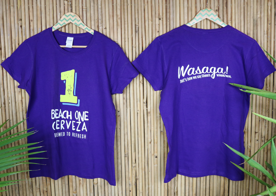 T-Shirt - Beach 1 - Purple