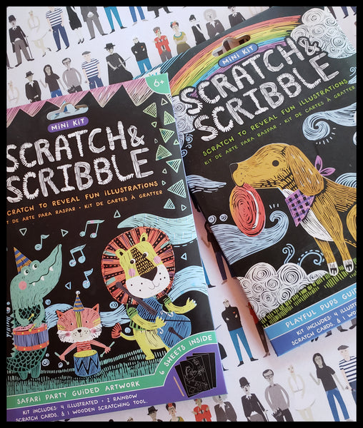 Pups Scratch and Scribble Kit