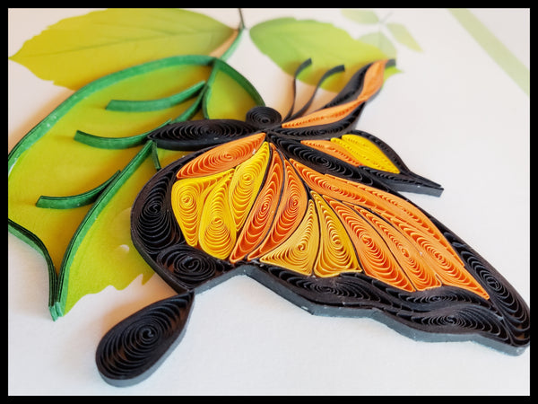 Butterfly Happy Birthday Quilling Card
