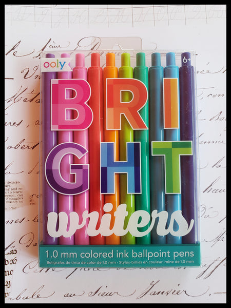 Bright Writers Ballpoint Pen Pack