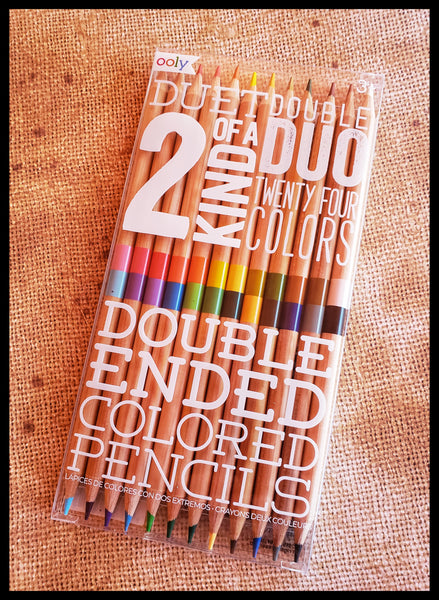 2 OF A KIND DUO Colored Pencils