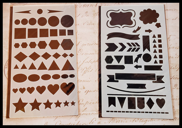 Dotted Journal Stencil Set