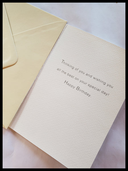 Safari Happy Birthday Card