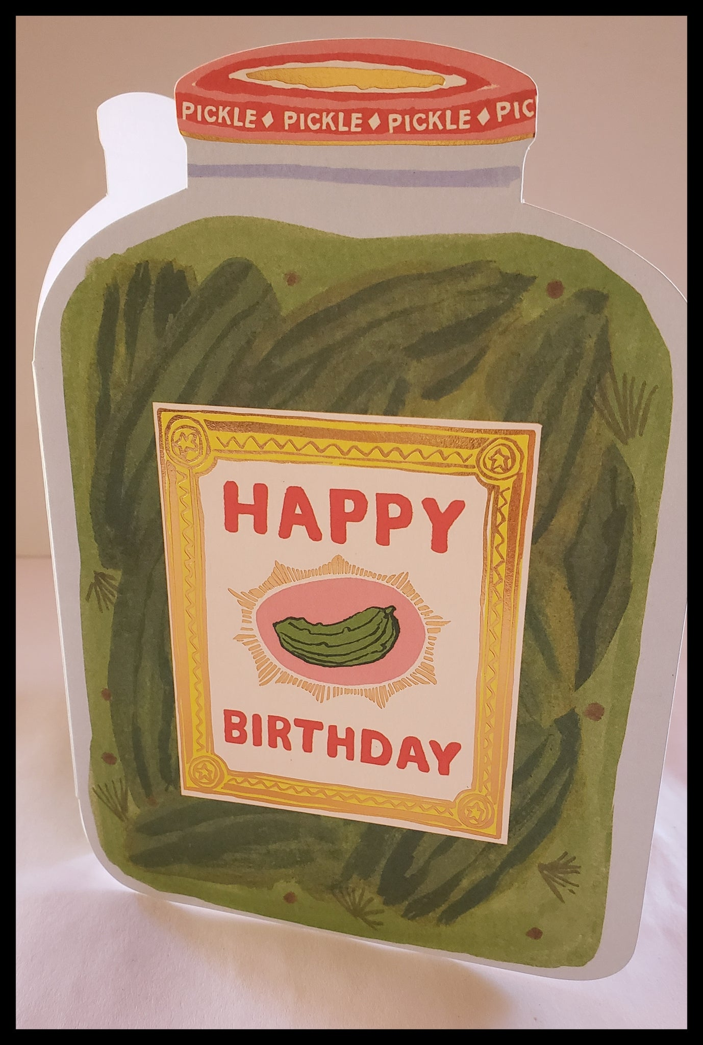 Pickles Happy Birthday Card