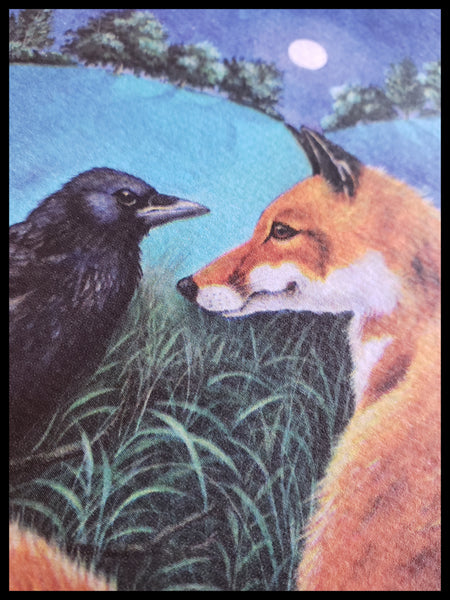 Fox & Crow Card