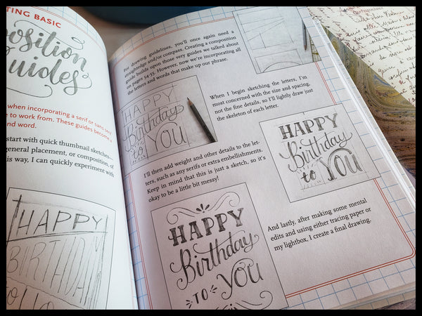 Hand Lettering Activity Book