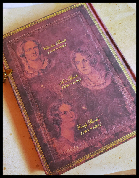 The Bronte Sisters Lined Hardcover Journal