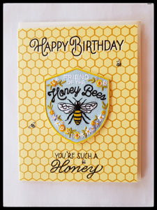 Friend of the Honey Bee Birthday Card