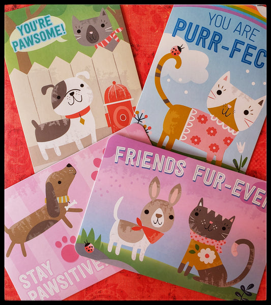 Stationery Set Paw Pals