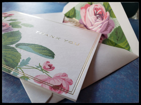 Thank You Boxed Note Cards