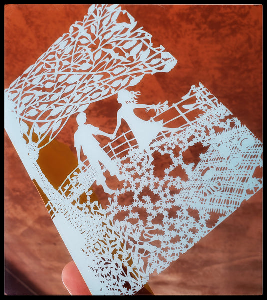 Die-Cut Greeting Card