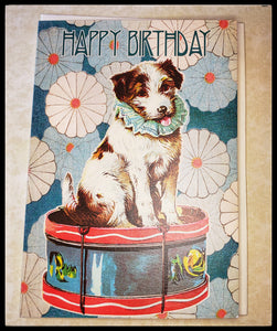 Dog Birthday Greeting Card