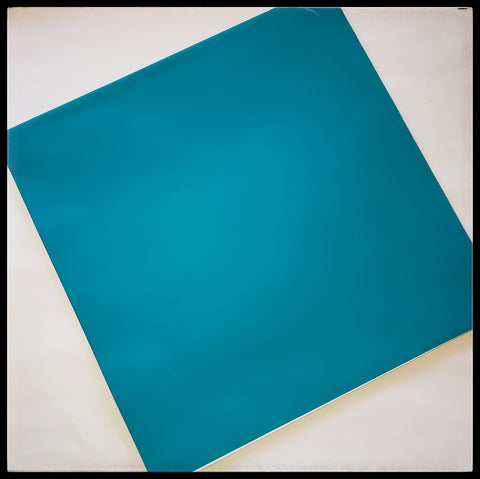 "Teal   2 Sheets in a pack   20"" x 30"" (51cm x 76cm)   Arrives folded in package 10"" x 10""   Gift wrap contains 100% recycled fiber ADA The Gilded Page Santa Fe New Mexico"
