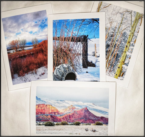 New Mexico in December 8 pack Card Collection