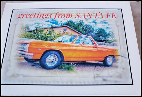 Greetings from Santa Fe Single Card