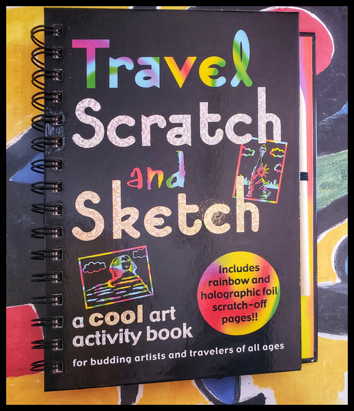 Travel Scratch and Sketch