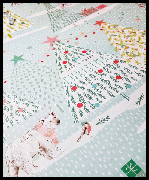Have A Happy Christmas 2 Pack Holiday Sheet Paper