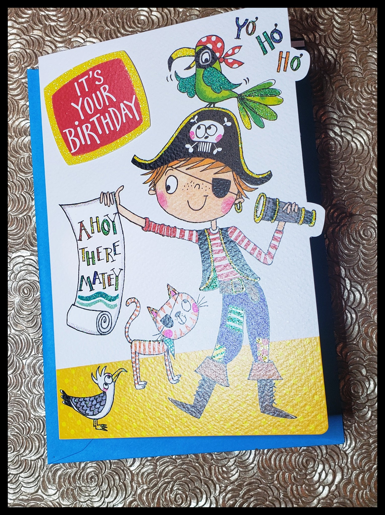 It's Your Birthday!  Ahoy There Matey
