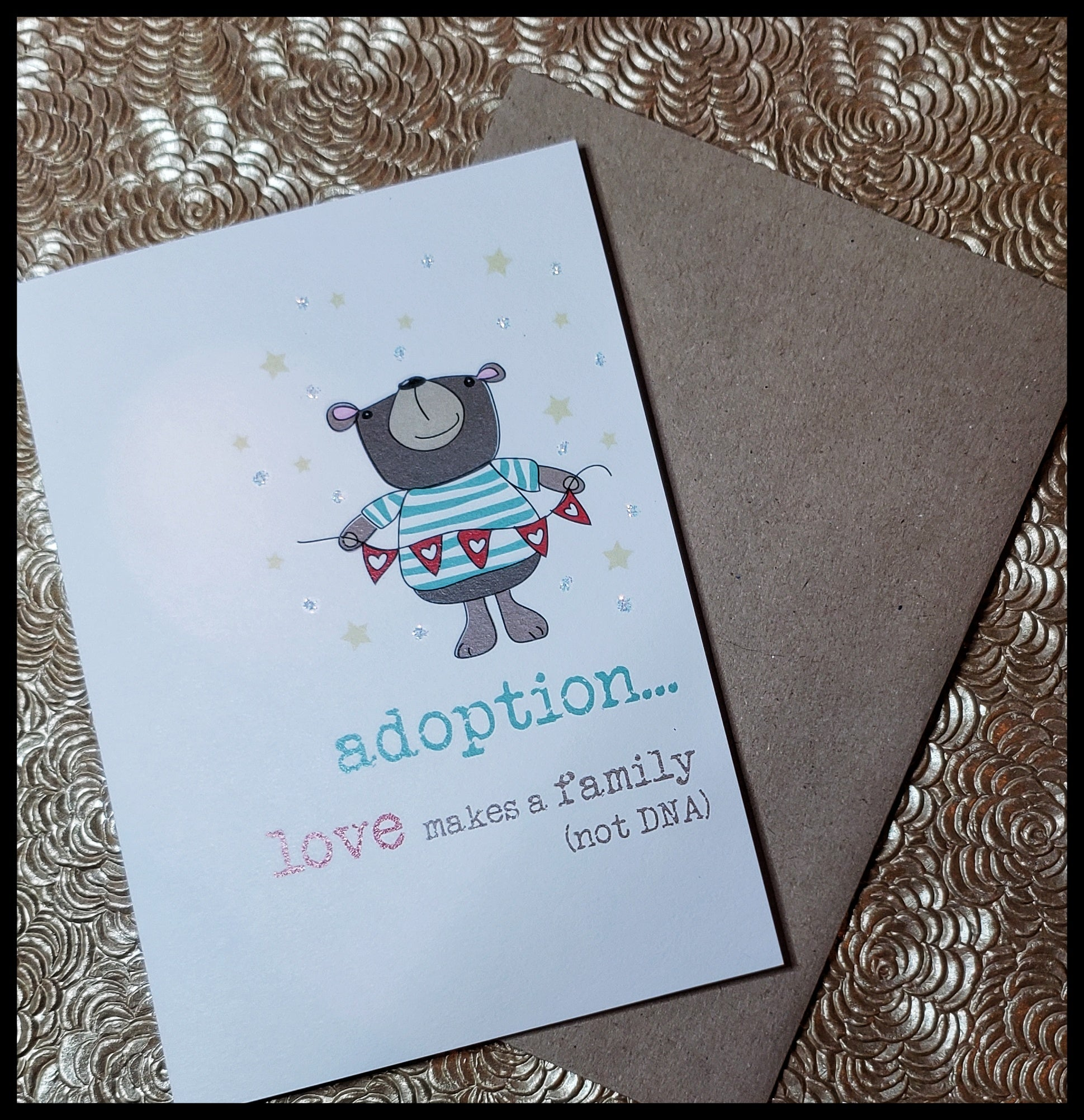 Adoption... Love makes family (not DNA)