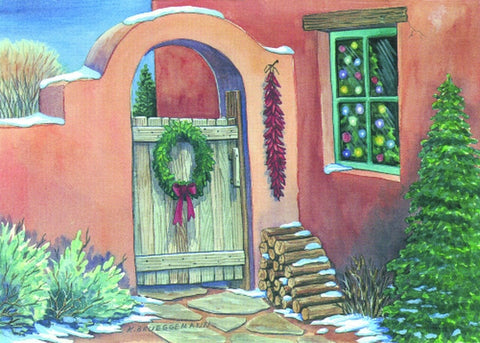 Holiday Hacienda by Karen Brueggemann 12 Pack Holiday Cards