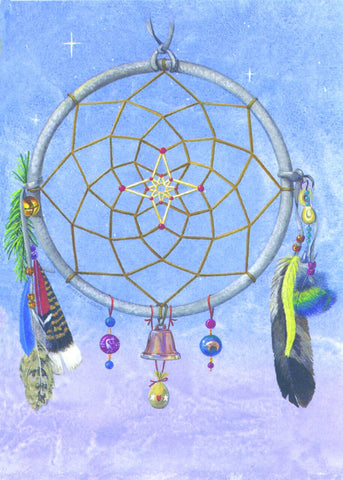 Star Bright Dreamcatcher by Skeeter Leard 12 Pack Holiday Cards