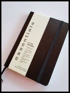 "Hardcover unlined journal. 192 pages, 5.5"" x 8"". Acid-free pages, inside pocket. ADA The Gilded Page Santa Fe"