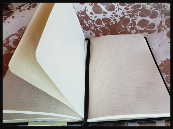 Essentials Leather Dot Matrix Notebook