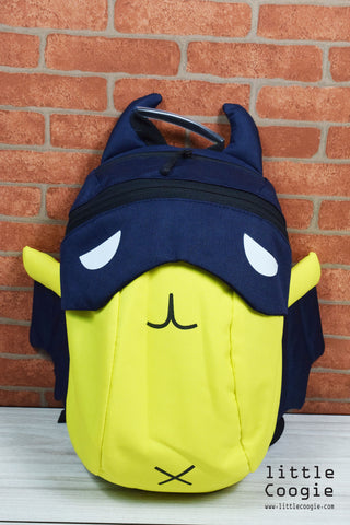 backpack - bat-yellow