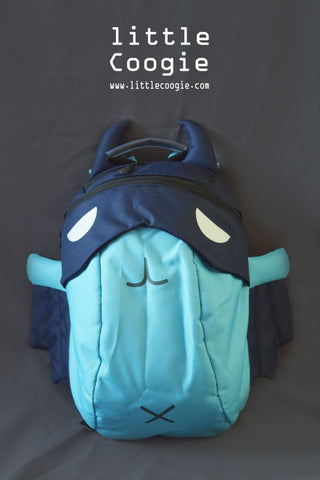backpack - bat-blue
