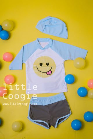 sw-019 smiley blue