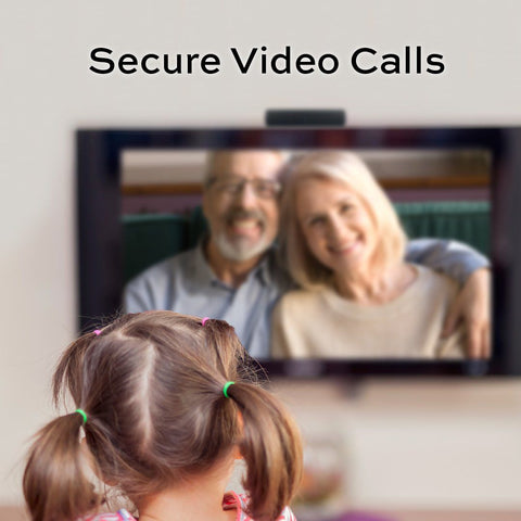TV Video Calling for Seniors - A Fun and Healthy Activity
