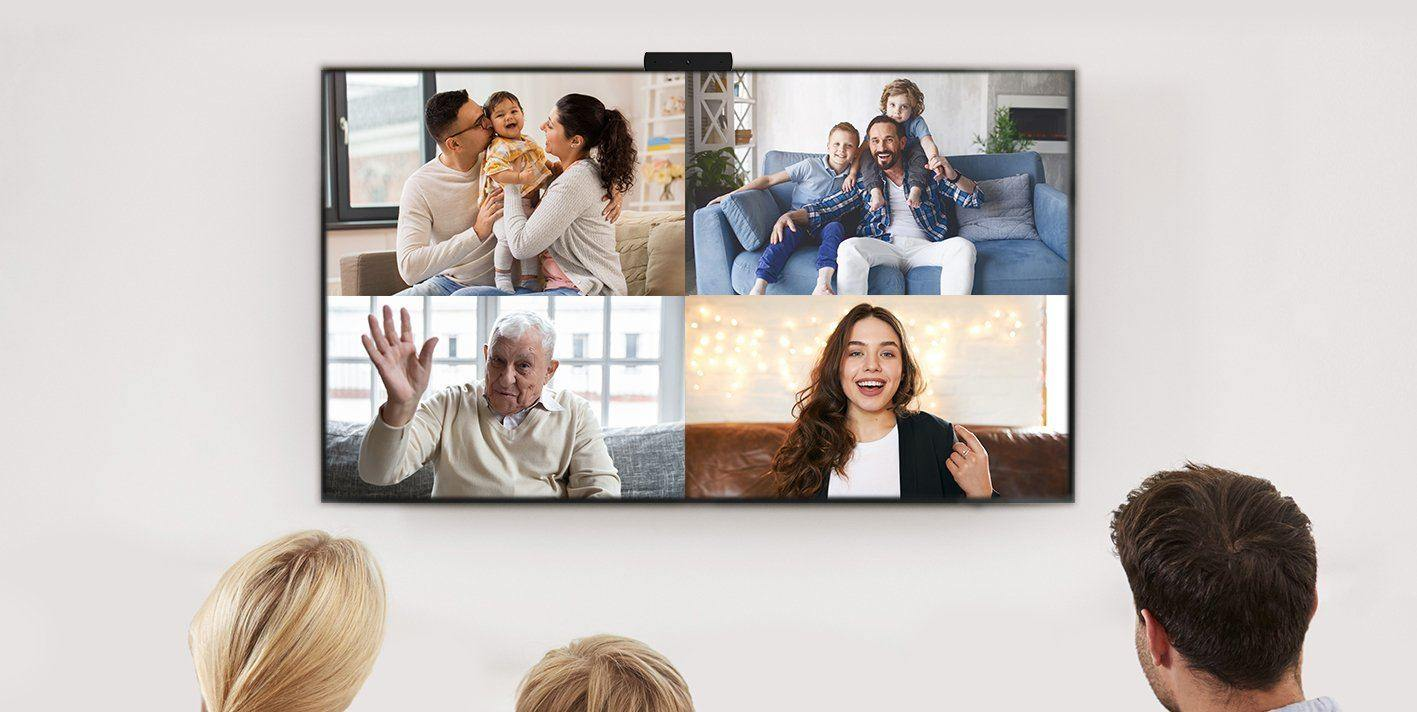 TV Video Calling Keeps You Connected This Holiday Season