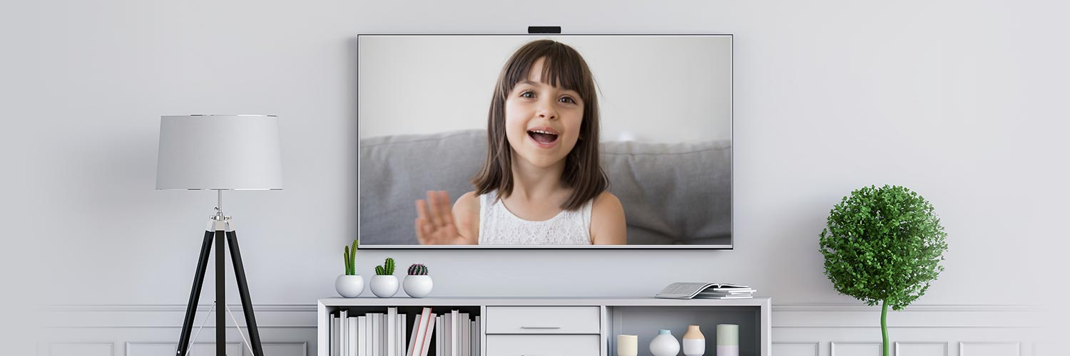 Onscreen TV Video Calling