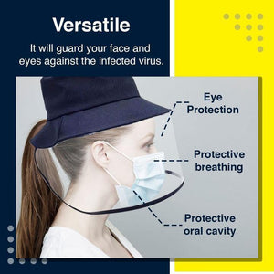 Airborne Transmission Full Face Isolation Hat