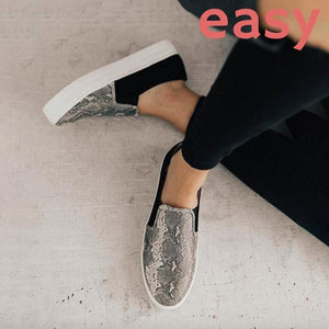 EASY Orthopedic Comfy Lightweight Leopard Loafer
