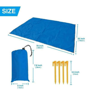 Sandproof Lightweight Beach Blanket only color