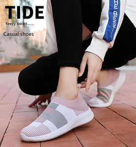 Comfy Vulcanized Casual Walking Sneakers Plus Size ( 70% OFF TODAY)