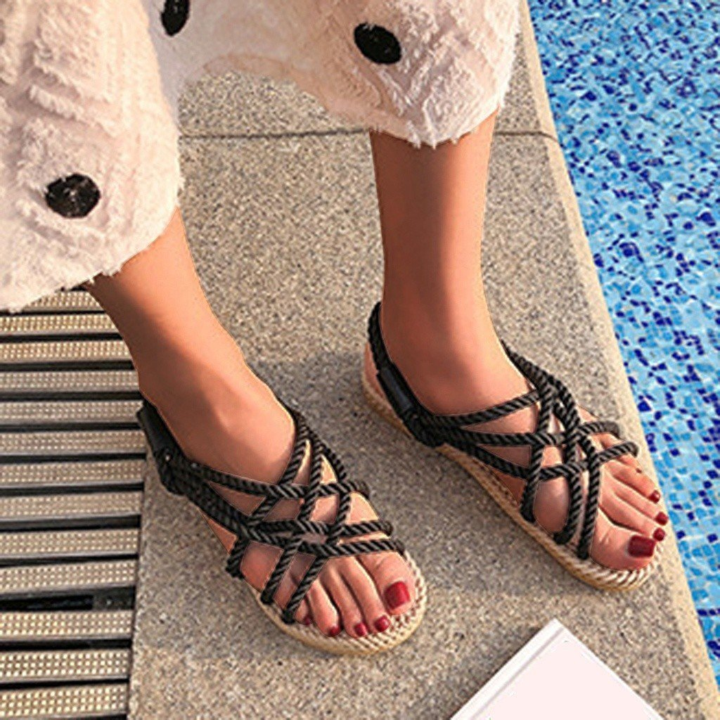 Buckle Roman Style Sandals