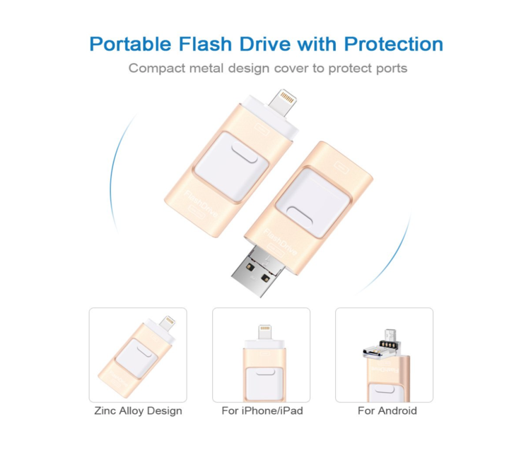 iFlash USB Drive for iPhone, iPad & Android