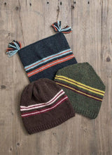 Load image into Gallery viewer, Blue Sky Fiber Ski Trio Hat Kit Brown