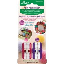 Clover 3127 Extra Small Pom Pom Maker Set