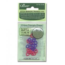 Clover 3148 Triangle Stitch Markers XS