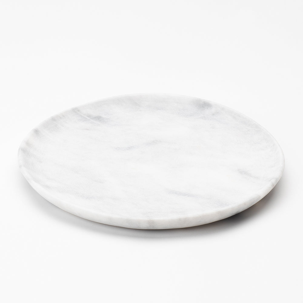 Large Plate - Arctic White